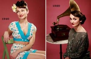 Katy Pearson vintage look