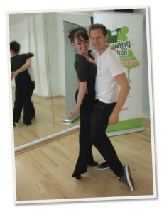 Katy Pearson with Brendan Cole