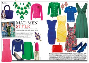 Mad Men, fashion, The Lady magazine