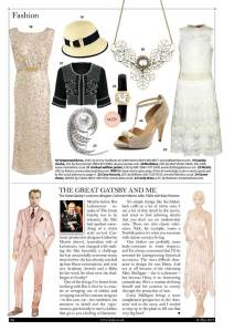 Gatsby Glamour in The Lady magazine