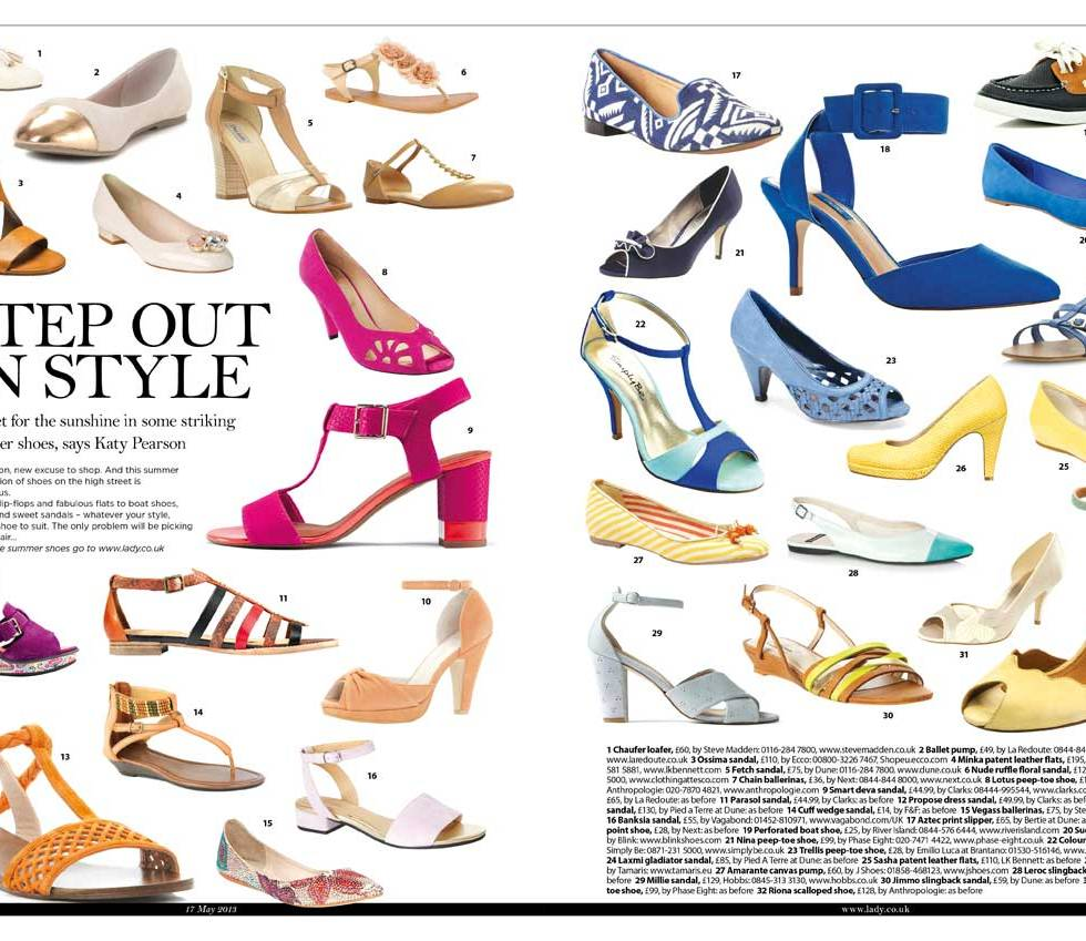 Spring/summer shoes 2013