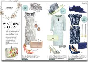 Wedding fashion in The Lady magazine