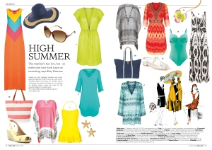 High summer fashion
