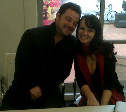 Katy Pearso and Danny Dyer