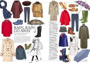 Rainwear fashion