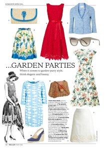 Fashion by Katy Pearson - garden party