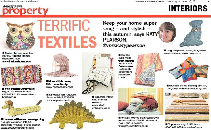 Katy Pearson textiles