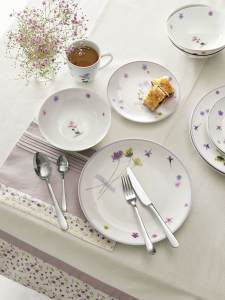 Pressed petals dinner set by Next