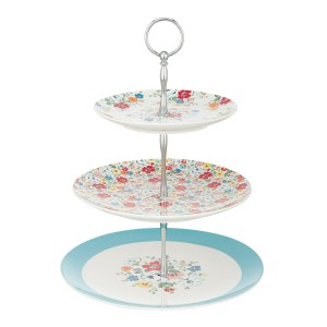 Clifton Rose 3 Tier Cake Stand, £35