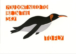 Penguin Screen Print