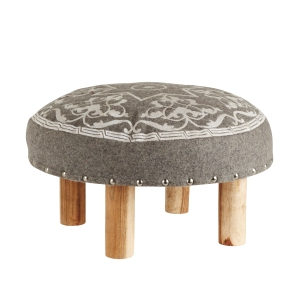 Jasmine Way footstool, £75