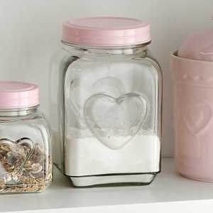 Pastel Glass Jar Freemans