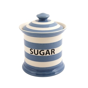 Stripe Sugar Storage Jar