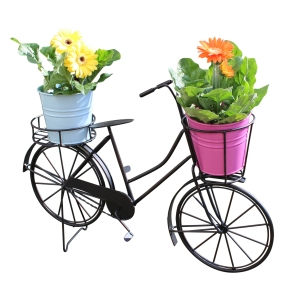 Black Rustic Bicycle Plant Holder, £24.95