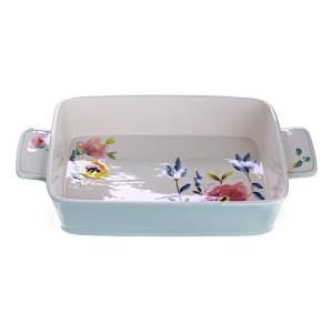 Bluebellgray hand paint large oven dish, £45