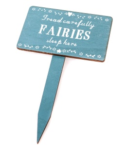 Sass & Belle Fairies Sleep Here Wooden