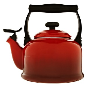 Le Creuset Traditional Stovetop Whistling Kettle, £61