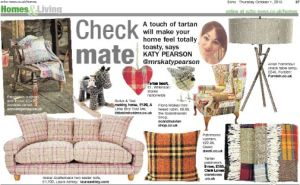 The Echo newspaper, interiors, Katy Pearson