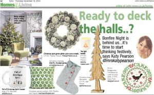 The Echo newspaper, Katy Pearson, interiors