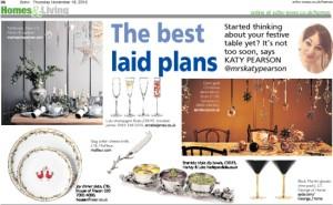 The Echo newspaper, Katy Pearson, interiors