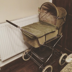 A vintage-lover's dream pram