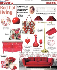 Chelmsford Weekly News, Katy Pearson, red, Valentine's