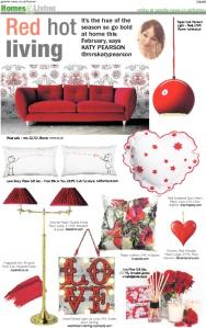 The Daily Gazette, Katy pearson, interiors