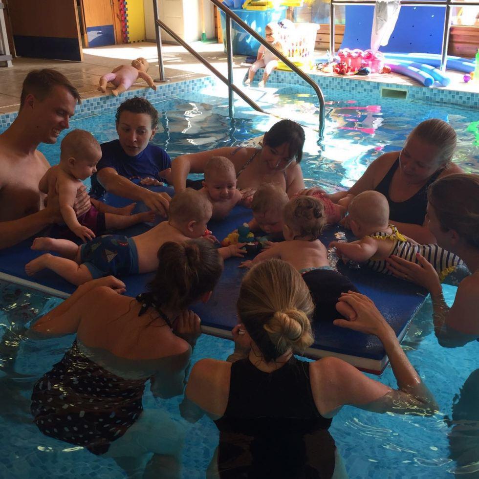 s2s Swim School class, Katy Pearson