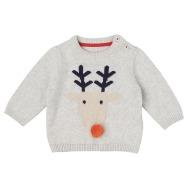 Grey Rudolf Jumper, £10, Marks & Spencer