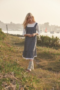 Laura Ashley SS17, Spring Print Petticoat Pinafore