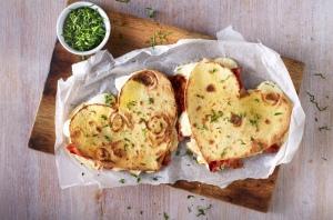 heart quesidillas, recipe, Valentine's Day