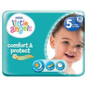 Asda, Little Angels, new launch, nappy