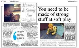Mummy and Sonny Jim, Katy Pearson, the Echo