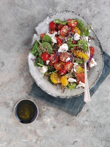 Quinoa, cherry tomatoes, Katy Pearson, #whatkatydid