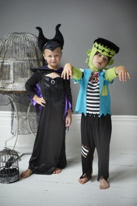 George at Asda, Frankenstein and Maleficent Kids Costume