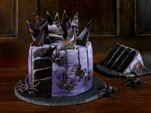 Gothic layer cake, #whatkatydidUK, recipe