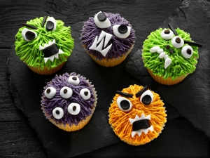Monster Cupcakes, #whatkatydidUK, recipe