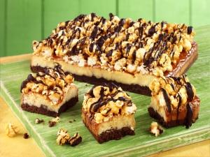 Popcorn Fudge Brownies, #whatkatydidUK