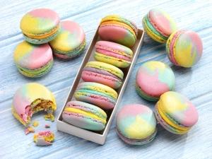 Rainbow Macaroons, #whatkatydidUK