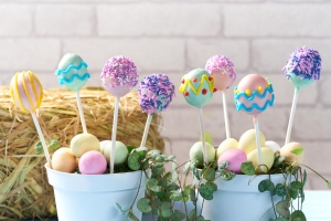 cake pops, recipe, easter, #whatkatydidUK