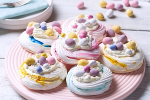 Easter, Meringue Nests, recipe, #whatkatydidUK
