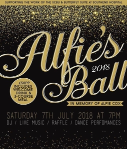 Alfie's Ball, #AlfiesBall