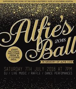 Alfie's Ball, #AlfiesBall