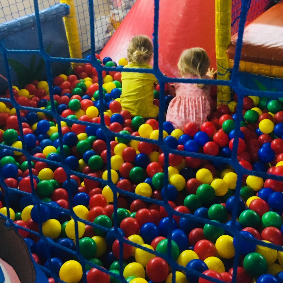 soft play, ball pit, Sonny Jim, Katy Pearson