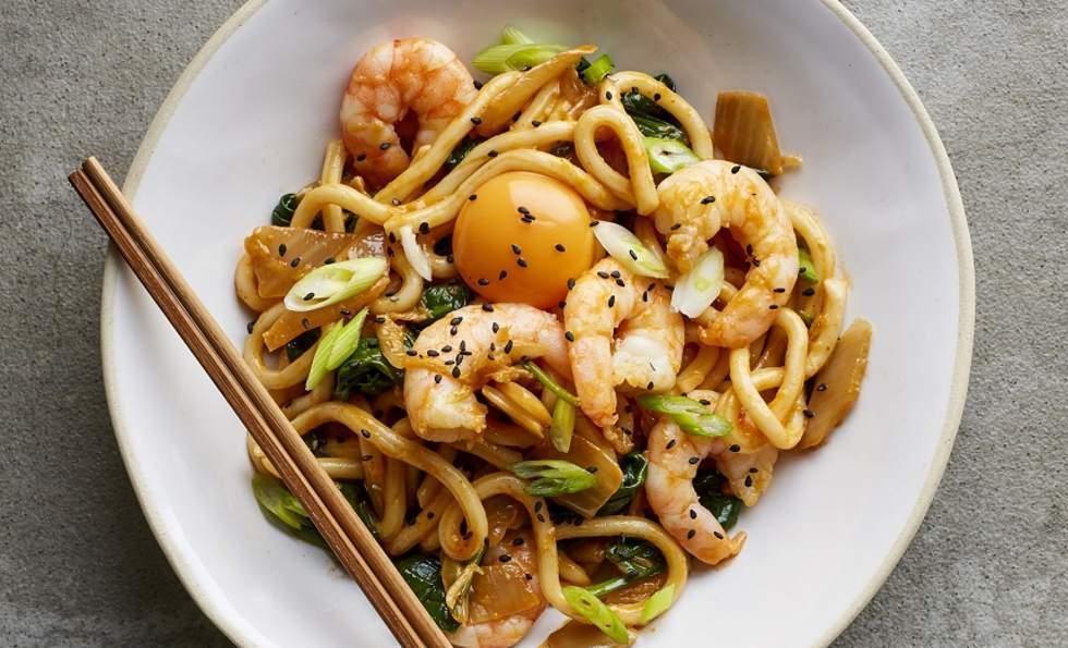 Japanese Kimchi Udon, Tom Daley